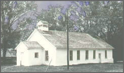 Pilgrim Holiness church today after being renovated in 1976.