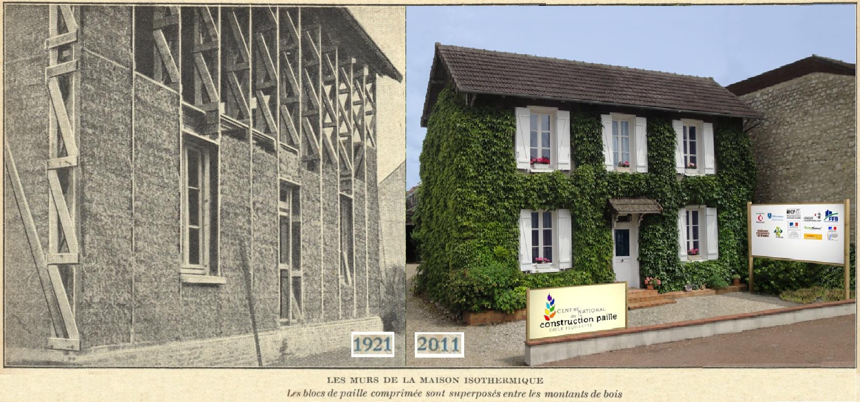Feuillette house the last straw journal for Maison montargis