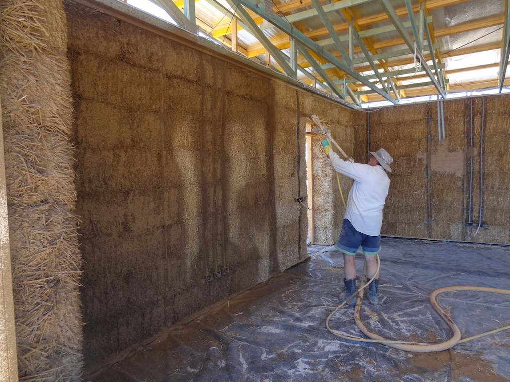 Choosing a plaster system for your straw bale house the for Things to know when building a house