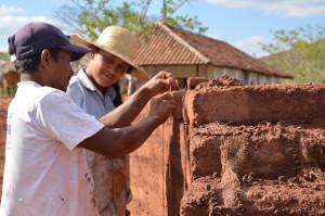 plumbing the wall