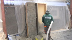 Prefabricated Hemp Lime Wall