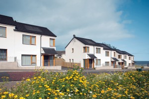 Social Housing Scheme in Northern Ireland built with hempcrete (Photo Oaklee Housing Association)