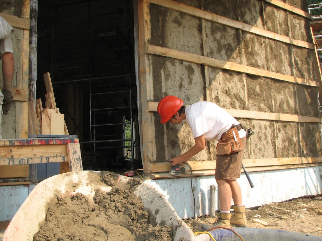 How Clay Plaster Might Save The World The Last Straw Journal
