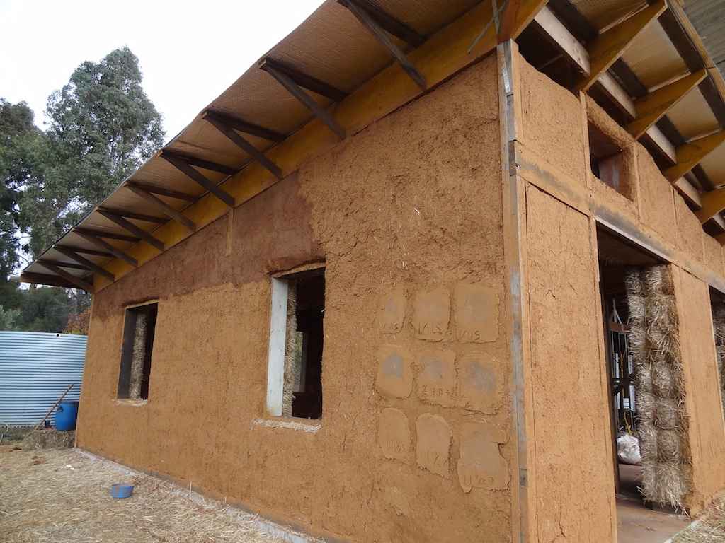 Choosing a Plaster System for Your Straw Bale House