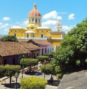 Colonial Adobe Church In Granada