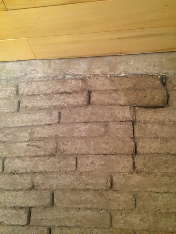 Poor quality masonry